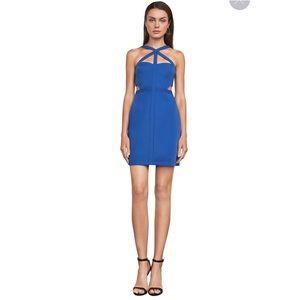 BCBGMAXAZRIA DESIRAE ROYAL BLUE DRESS SIZE 8.